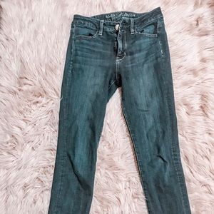 Gently used American Eagle dark wash jeans